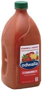 Odwalla Smoothie Blend Flavored 4 Juice, Strawberry C Monster