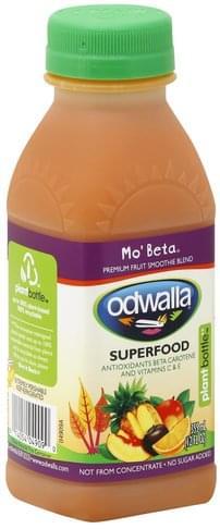 Odwalla Premium, Mo' Beta Fruit Smoothie Blend - 12 oz