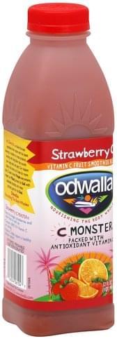 Odwalla Vitamin C, Strawberry C Fruit Smoothie Blend - 32 oz