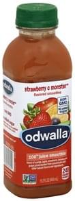 Odwalla 100% Juice Smoothie Strawberry C Monster