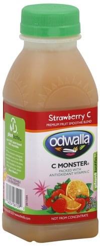 Odwalla Premium, Strawberry C Fruit Smoothie Blend - 12 oz