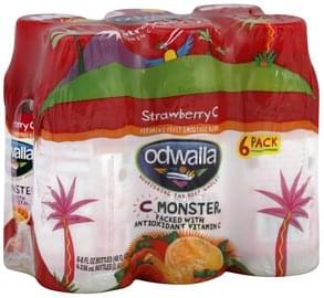 Odwalla Fruit Smoothie Blend Vitamin C, Strawberry C