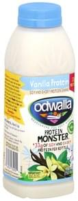 Odwalla Protein Shake Soy and Dairy, Vanilla Protein