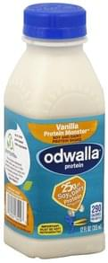 Odwalla Protein Shake Soy and Dairy, Vanilla Protein Monster