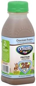 Odwalla Protein Shake Soy and Dairy, Protein Monster, Chocolate Protein