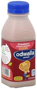 Odwalla Protein Shake Soy and Dairy, Strawberry Protein Monster