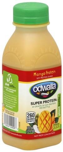Odwalla Mango Protein Soy Protein Shake - 12 oz