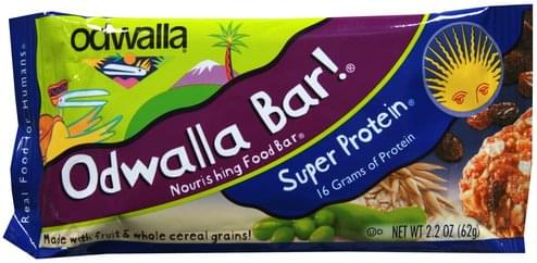 Odwalla Super Protein Nourishing Food Bar - 2.2 oz