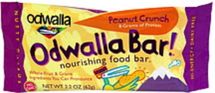 Odwalla Nourishing Food Bar Peanut Crunch