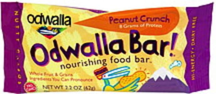 Odwalla Nourishing Food Bar Peanut Crunch