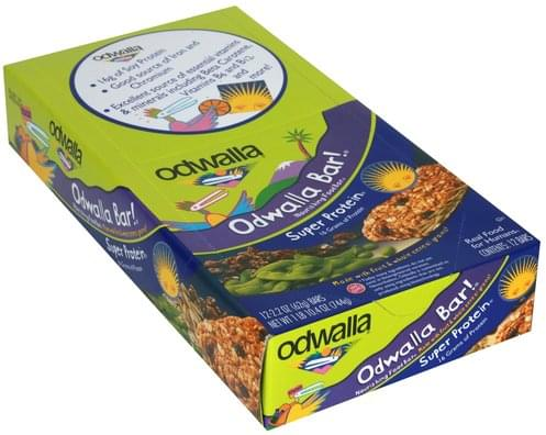 Odwalla Super Protein Nourishing Food Bar - 12 ea