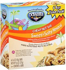 Odwalla Bar Sweet & Salty Almond Chewy Nut