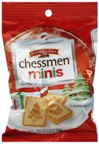 Pepperidge Farm Cookies Chessman Minis