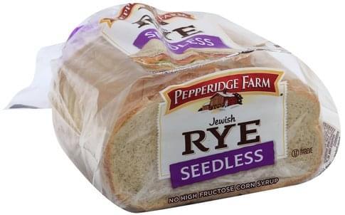 Pepperidge Farm Jewish Rye, Seedless