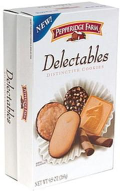 Pepperidge Farm Delectables Distinctive Cookies