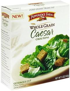 Pepperidge Farm Croutons Whole Grain Caesar