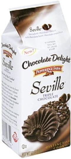 Pepperidge Farm Distinctive Cookies Triple Chocolate, Pre-Priced