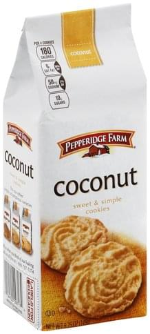 Pepperidge Farm Coconut Cookies - 5.25 oz