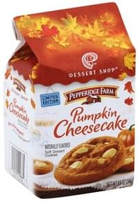 Pepperidge Farm Cookies Soft Dessert, Pumpkin Cheesecake