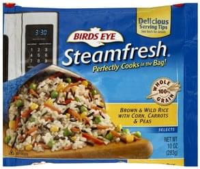 Birds Eye Brown & Wild Rice with Corn, Carrots & Peas