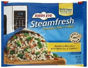 Birds Eye Brown & Wild Rice with Broccoli & Carrots