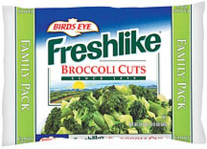 Freshlike Frozen Vegetables Broccoli Cuts Family Pk