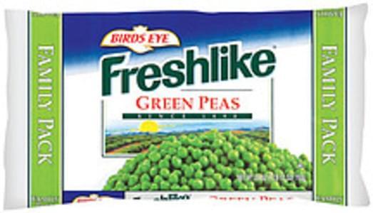 Freshlike Frozen Vegetables Green Peas Family Pk
