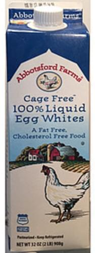 Abbotsford Farms Cage Free 100% Liquid Egg Whites - 46 g