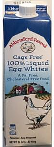 Abbotsford Farms Cage Free 100% Liquid Egg Whites