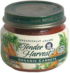 Gerber Carrots Organic, 1