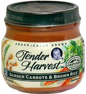Gerber Garden Carrots & Brown Rice 2