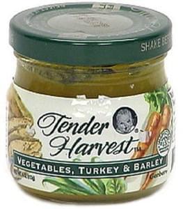 Gerber Vegetables, Turkey & Barley