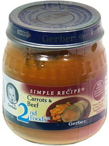 Gerber Carrots & Beef - 4 oz