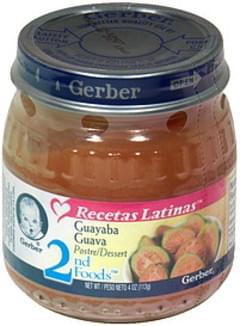 Gerber Dessert Guava