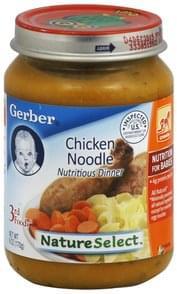 Gerber Nutritious Dinner Chicken Noodle