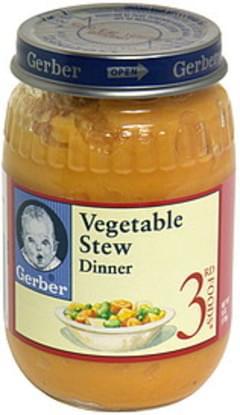 Gerber Vegetable Stew Dinner