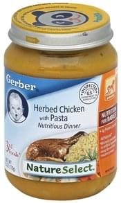 Gerber Nutritious Dinner Herbed Chicken, with Pasta