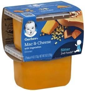 Gerber Mac & Cheese with Vegetables Dinner