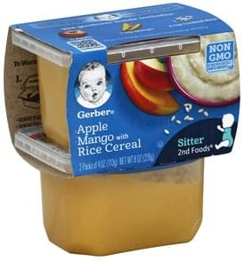 Gerber Apple Mango with Rice Cereal