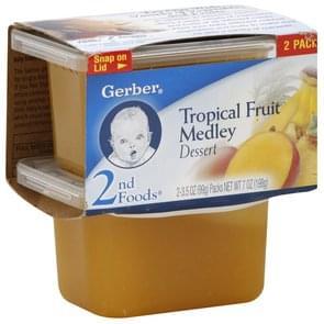 Gerber Dessert Tropical Fruit Medley