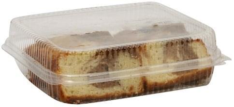Giant Sliced, Cinnamon Swirl Loaf Cake - 16 oz