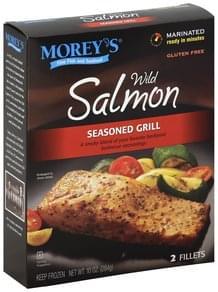 Moreys Salmon Wild, Seasoned Grill