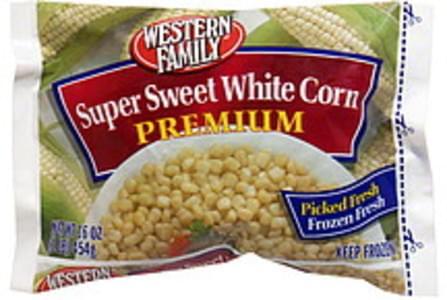 Western Family Premium Super Sweet White Corn
