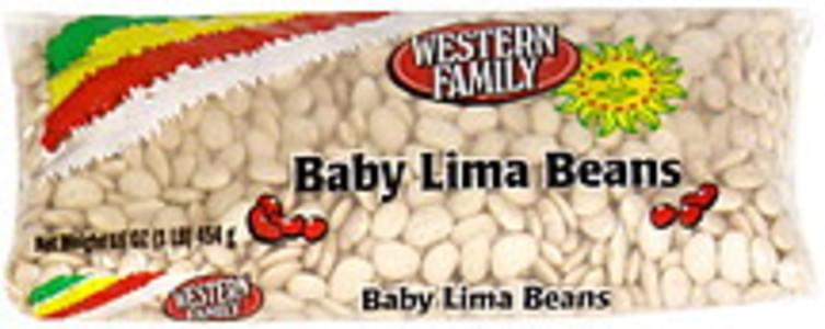 Western Family Lima Beans Baby