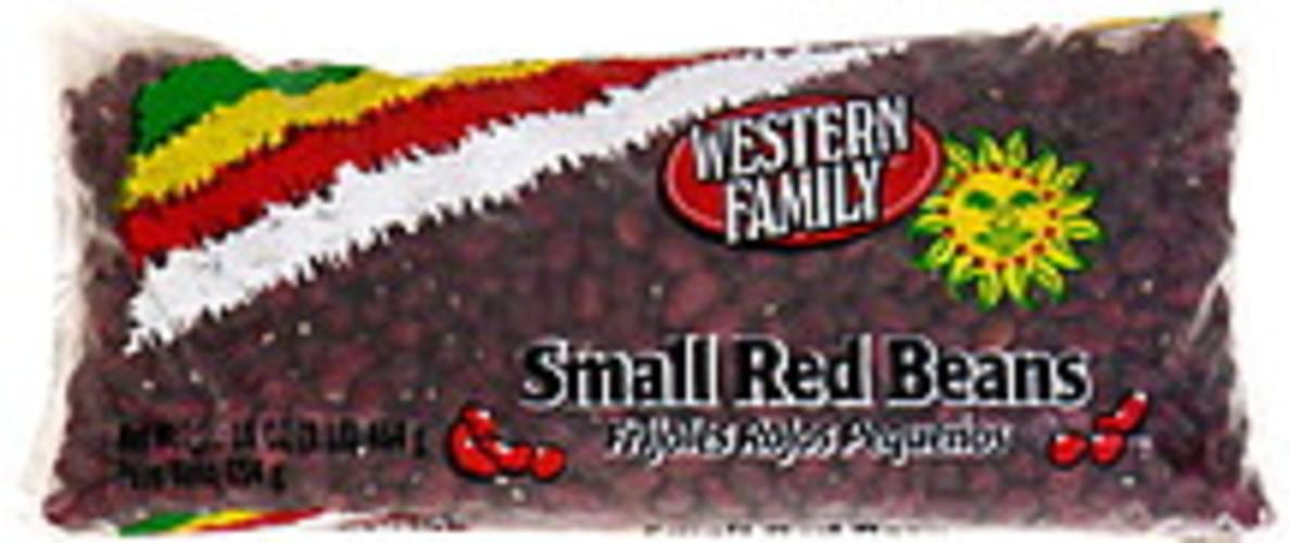 Western Family Small Red Beans - 16 oz