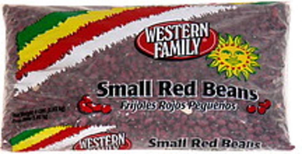 Western Family Small Red Beans - 4 lb