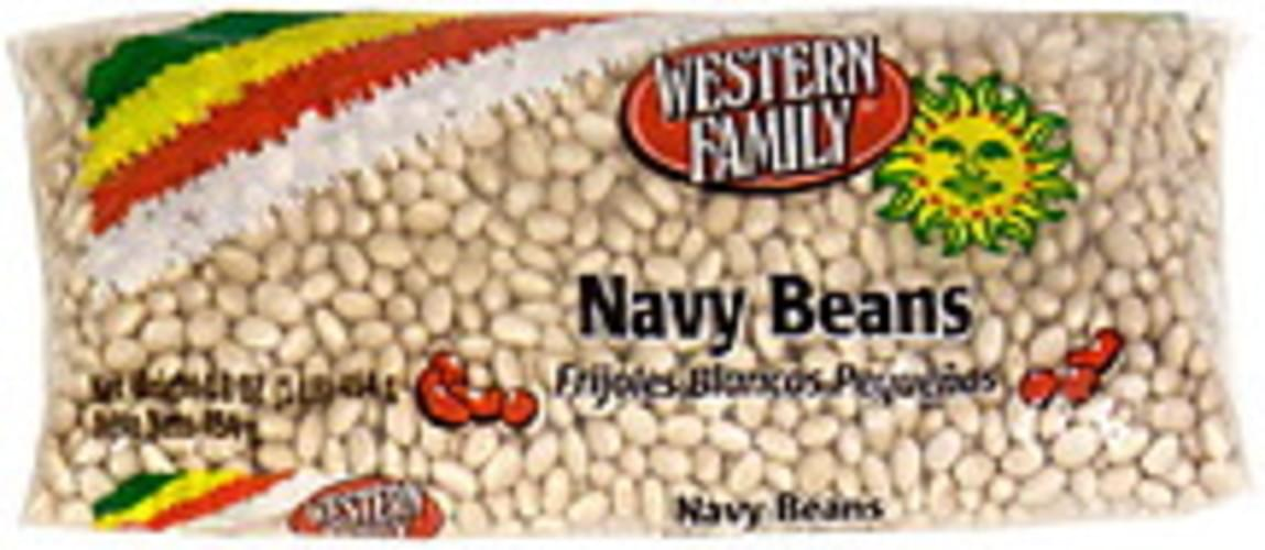 Western Family Navy Beans - 16 oz