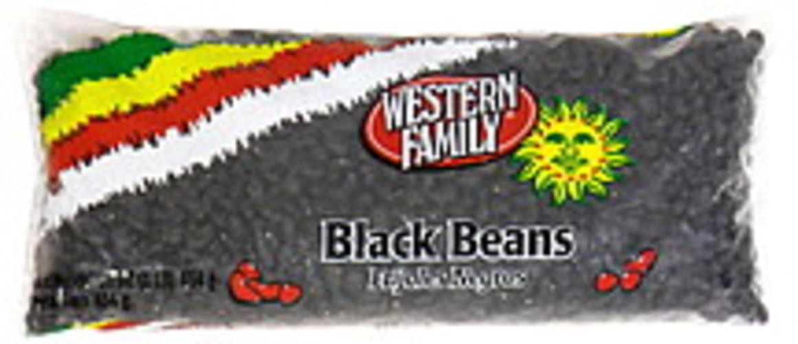 Western Family Black Beans - 16 oz