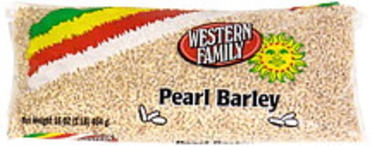 Western Family Pearl Barley