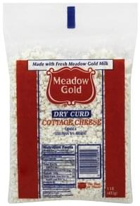 Meadow Gold Cottage Cheese Dry Curd, Less than 1/2% Milkfat